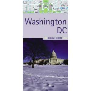 Rough Guide Map to Washington DC (9781843531517): Rough Guides: Books