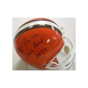Ozzie Newsome Autographed Cleveland Browns Full Size Replica Football