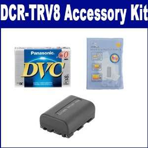 Sony DCR TRV8 Camcorder Accessory Kit includes DVTAPE Tape
