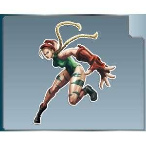 CAMMY from Street Fighter vinyl decal sticker No. 2 6