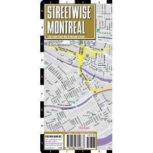pocket size travel map with metro map [Map] Streetwise Maps Books