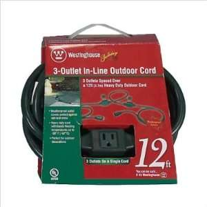 Orman Inc. 28417 3 Outlet In Line Outdoor Cord
