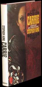 STEPHEN KING   Carrie   SIGNED 1ST EDITION, 1ST BOOK