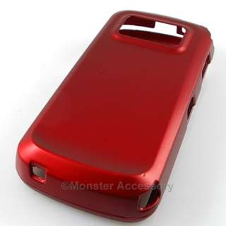 Red Rubberized Hard Case Cover For Nokia N97 Accessory