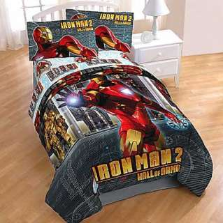 3pc IRON MAN Armor Marvel Comics Bedding BED SHEETS SET