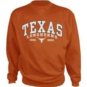 Texas Longhorns Orange Prom Arch Sweatshirt  Sports