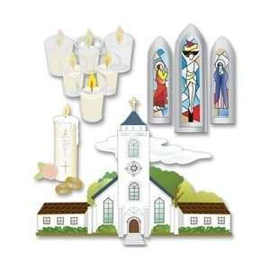 Themed Ornate Stickers, Catholic Wedding: Arts, Crafts & Sewing