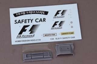 Parts Mercedes Benz SLS AMG F1 Safety Car Revell fujimi 123981