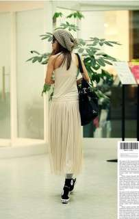 Spring Casual Slim Fit Elegant Ruffle Sleeveless Full Length Dress