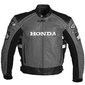 Joe Rocket Honda CBR Leather Jacket   46/Black/Grey