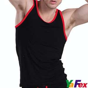 Sports & Sexy Men's Modal Underwear Vest/Tank Top T shirt fitness