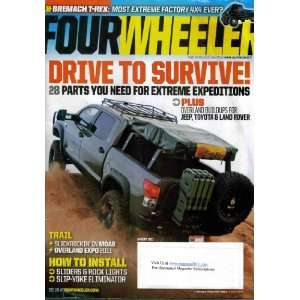 FOUR WHEELER Magazine (8/11) Drive to Survive: Automotive