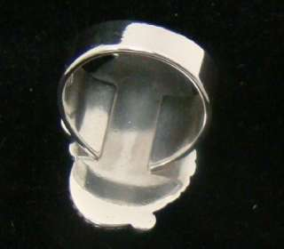 CAROLYN POLLACK RELIOS 925 TOURQUOISE RING SIZE 7 STERLING SILVER 11