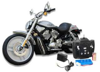 Scale Remote Control Motorcycle Harley Style RC Large Bike