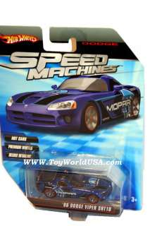Vehicle Name 2006 Dodge Viper SRT10 Series issue Speed Machines