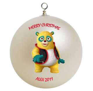 Personalized Special Agent Oso Christmas Ornament