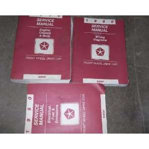 chassis/body Service Manual, wiring diagrams manual, and the