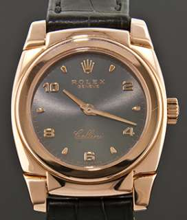 Rolex Cellini Cestello 5310 18k Rose Gold Ladies Manual Wind Watch