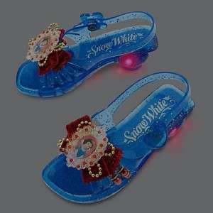 New  Princess Snow White Light up Costume Shoes Slippers