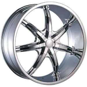 U2 35s Chrome Rims Wheels 18x7.5 Honda Toyota Nissan Chrome Rims 4pc
