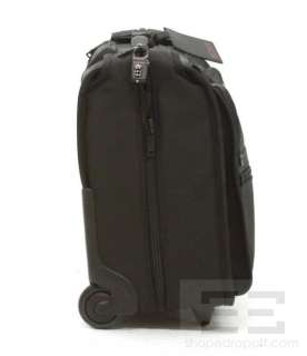 Tumi Alpha Black Ballistic Nylon Wheeled Carry On Garment Bag