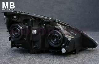 Real DEPO 02 04 Acura RSX Headlight 03 Black Chrome Clear JDM Style