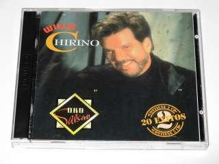 Willie Chirino Oro Salsero 20 Exitos Double CD Album 786367312726