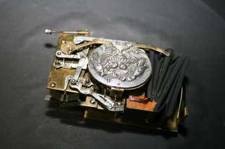 ANTIQUE SILVER SINGING BIRD MUSIC BOX AUTOMATON 1910 COLLECTORS ITEM