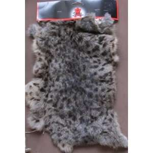 Tandy Craft EXOTIC SPOTTED RABBIT SKIN RABBITSKIN Pelt For