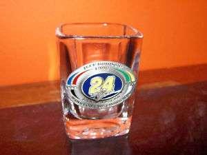 1998 Jeff Gordon NASCAR 3 Times Winston Cup Shot Glass