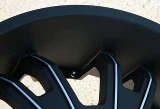 KMC SHILO 664 24 BLACK RIMS WHEELS IMPALA CAPRICE CHEVROLET