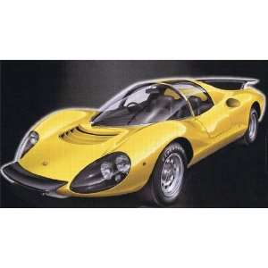1/24 Ferrari Dino 206 Competizione Model Kit Car racing
