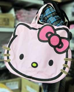Hellokitty Purse Shoulder Big Bag Travel Lady Shopping Kid Plush Cool