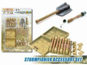 Dragon 1/6 Scale WWII German Sturmpionier Accessory Set