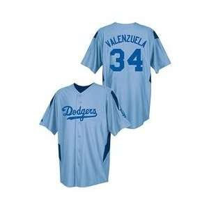 Los Angeles Dodgers Fernando Valenzuela Stance II Button Front Jersey