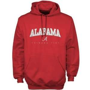 Alabama Crimson Tide Crimson Big Game Pullover Hoody