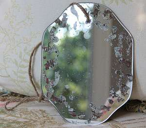 Shabby Cottage Chic Antique Wall Mirror 440 807472479637