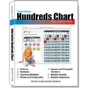 Interactive Hundreds Chart (9781571160584): Fred Ventura, Ph.D.: Books