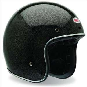 Bell Custom 500 Open Face Motorcycle Helmet Black Flake