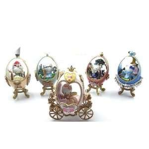 Kitty Fairy Tale Formation Arts Carriges Egg Shape Set of 5 Figures