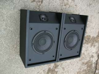 201 SERIES III 6.5 2 WAY SPEAKER SYSTEM, BLACK VINYL CABINETS, SOUND