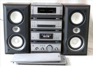 Sony MHC S3 Seperates Stack Hi Fi System with SS S3 Speakers   CD not