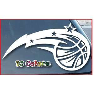 Orlando Magic Car Window Vinyl Decal Sticker 7 Wide (Color White)