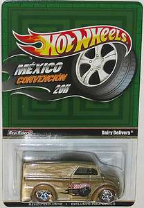 2011 Hot Wheels Mexico Convention Gold Dairy Delivery VERY RARE