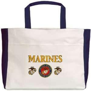Beach Tote Navy Marines United States Marine Corps Seal