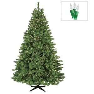 7.5 Cumberland Fir Prelit Artificial Christmas Tree, 800