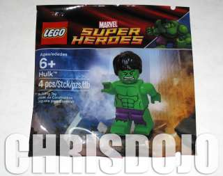 LEGO HULK Super Heroes Marvel Avengers Exclusive Limited Promo Minifig