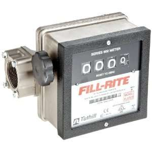 Fill Rite 901 N 1 Inlet/Outlet Basic Meter 40gpm Nickel Plat