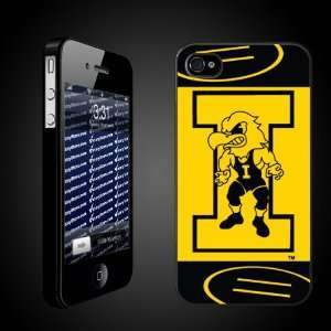 University of Iowa Hawkeyes BLACK iPhone Hard Case   (#11 Wrestler