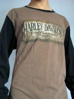 Davidson Motorcycles Santa Maria California L/S T Shirt Tee